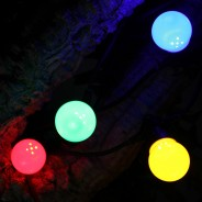 Multi Coloured Connectable Festoon Lights 3