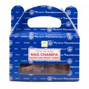 Satya Backflow Dhoop Cones - Nagchampa  3