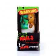 Solar Zombie Nails The Hedgehog 1