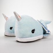 Children's Narwhal Slippers (Size 11-4) 5