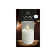 Natural Wax LED Candle  4