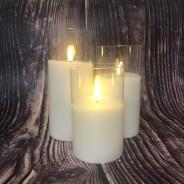 Natural Wax LED Candle  2