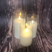 Natural Wax LED Candle  1