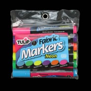 Neon Fabric Markers (6 Pack) 3