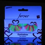 Neon Feather Eyelashes 4
