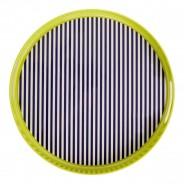 Neon Green Stripe Tray 2