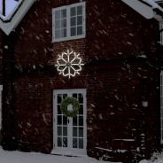 Neon LED Snowflake 2