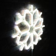Neon LED Snowflake 4