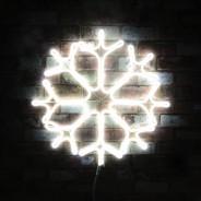 Neon LED Snowflake 5