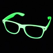 Neon Glasses Clear Lenses 2