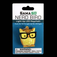 Nerd Bird LED Keyring Torch 3