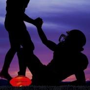 Night Match Light Up LED American Football - Size 6 3