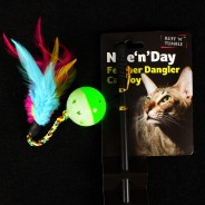 Nite n Day Feather Dangler 1
