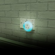 Plug Through Night Light 2 Blue