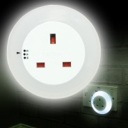 Plug Through Night Light 4