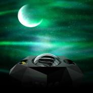 Northern Lights Aurora Moon & Star Projector and Speaker 3