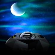 Northern Lights Aurora Moon & Star Projector and Speaker 5