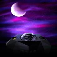 Northern Lights Aurora Moon & Star Projector and Speaker 7