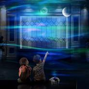 Northern Lights Aurora Moon & Star Projector and Speaker 2