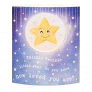 Nursery Rhyme Starlight LED Lantern 5 Twinkle Twinkle