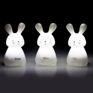 Rechargeable Bunny Night Lights (3 Pack) 1
