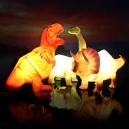 Origami Lamp Dinosaur 1