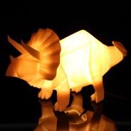 Origami Lamp Dinosaur 4