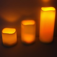 Outdoor LED Flameless Candle 1