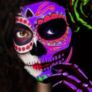 PaintGlow Day of the Dead UV Paint Kit (GS023) 1