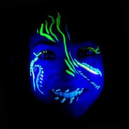 PaintGlow Glow in the Dark Face and Body Paint Kit (GS08) 3