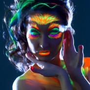 PaintGlow Neon UV Face and Body Paint Kit (GS05) 3