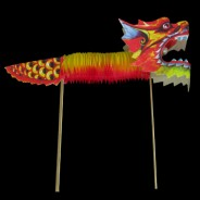 Paper Dragon Decorations (2 Pack) 2