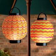 18cm LED Summer Paper Lantern 1
