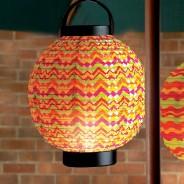 18cm LED Summer Paper Lantern 2