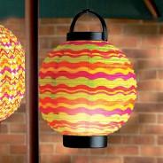 18cm LED Summer Paper Lantern 3