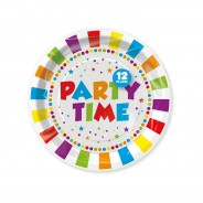 Party Paper Tableware 3 Party Paper Plates