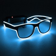 Light Up Party Fun Glasses 2 Blue