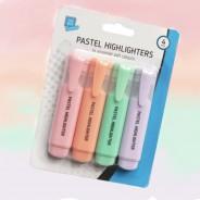 Pastel Highlighter Pens (4 pack) 1