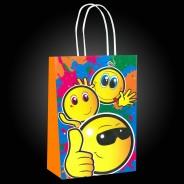 Emoji Party Bag Set (12 pack) 3 Paper party bag