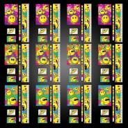 Emoji Party Bag Set (12 pack) 6 12 x stationery sets