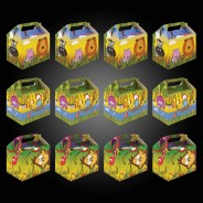 Jungle Party Box Kit (12 pack) 6 12 x party boxes