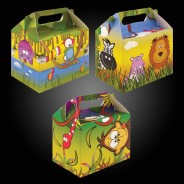 Jungle Party Box Kit (12 pack) 3 Various party box designs