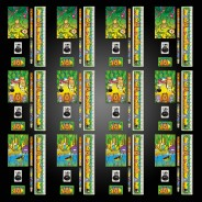Jungle Party Box Kit (12 pack) 7 12 x stationery sets