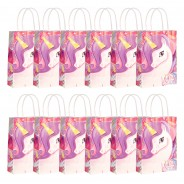 Unicorn Party Bag Pack (12 pack) 2 12 x party bags