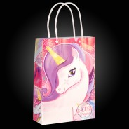 Unicorn Paper Party Bags (12 pack) 2