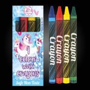 Unicorn Wax Crayons (12 pack) 2