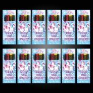 Unicorn Wax Crayons (12 pack) 3