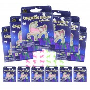Deluxe Unicorn Party Bag (12 Pack) 4 12 x 24 pack unicorn glow shapes