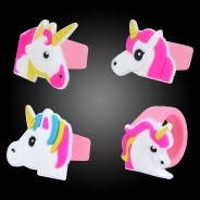 Unicorn Party Rings (12 pack) 2