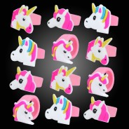 Unicorn Party Rings (12 pack) 1